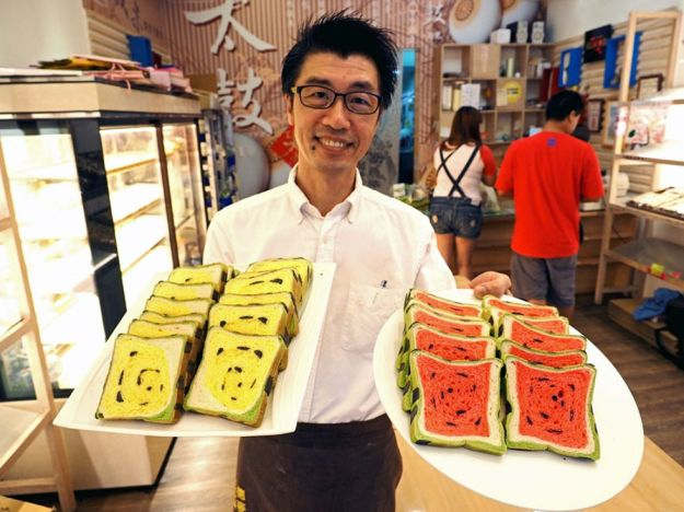 Taiwan's watermelon bread will delight your senses and confuse your tastebuds