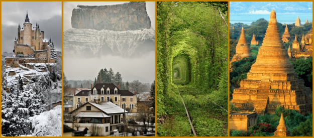 10 Secret Places in the World to Visit