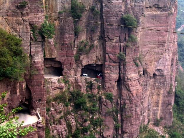 12) Guoliang Tunnel Road, China 1