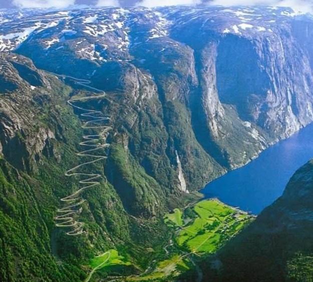 3) Lysefjorden Road, Norway 2