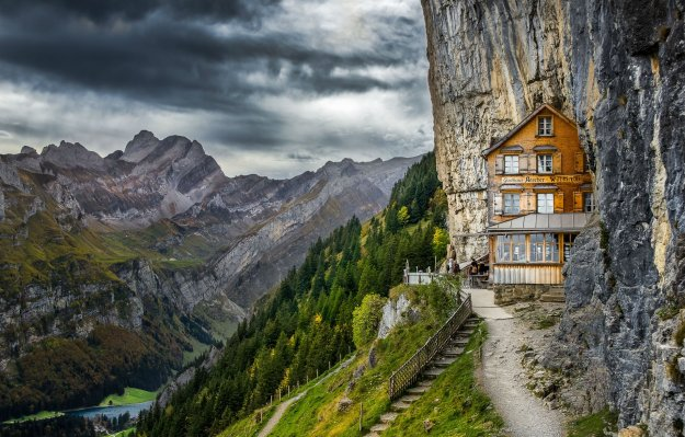 6) Aescher, Switzerland
