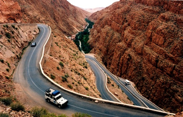 7) Dadès Gorge Road in the High Atlas Mountains, Morocco 3