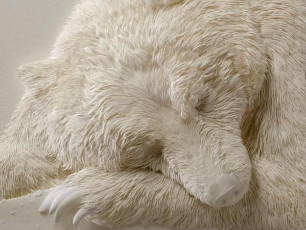 Super Realistic Paper Sculptures Of Animals By Calvin Nicholls 13
