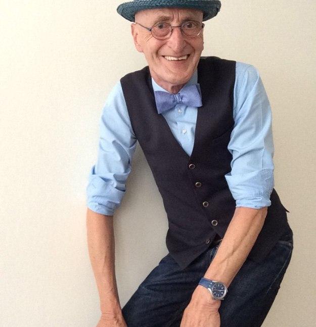 Stylish Grandpa Takes Internet by Storm 8