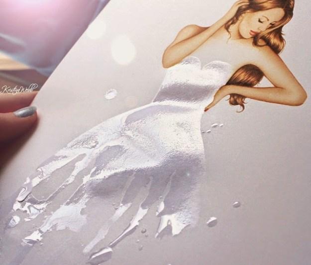 Absolutely Creative Dress Paintings Of Kristina Webb 13