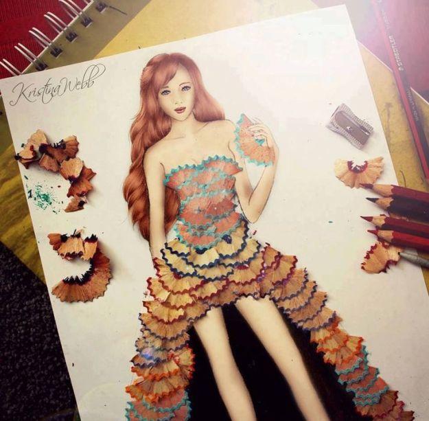 Absolutely Creative Dress Paintings Of Kristina Webb 4