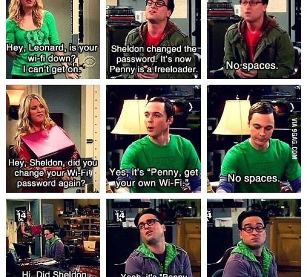 Best Moments of The Big Bang Theory 8