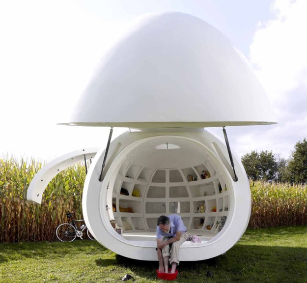 This Spacecraft-Like Micro-Home Will Amaze Sci-Fi Fans 11