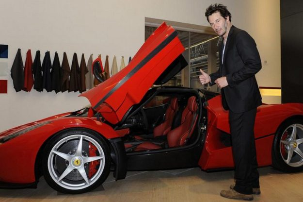 $272,700 Ferrari Laferrari | 8 Awesome but Ridiculously Expensive Things Bought by Keanu Reeves Brain Berries