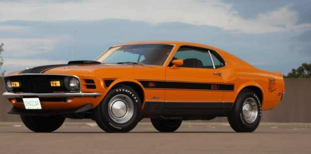 $46,200 1970 Ford Mustang Mach 1 Twister | 8 Awesome but Ridiculously Expensive Things Bought by Keanu Reeves Brain Berries