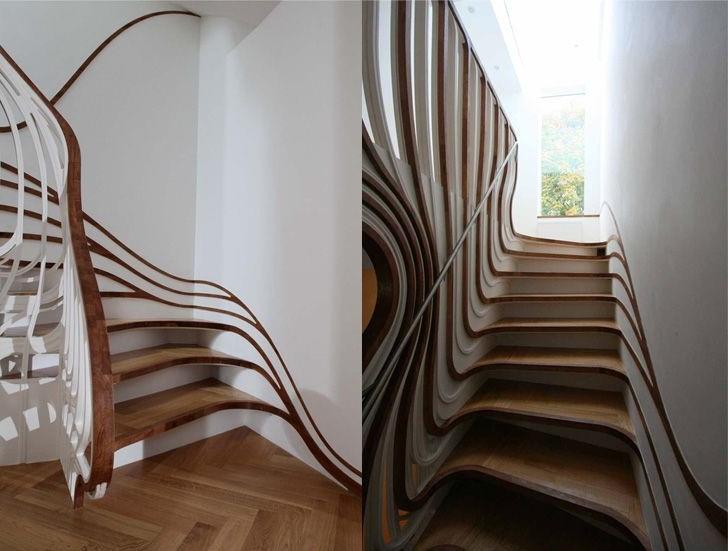 Atmos Studio, London, UK | 15 Most Astonishing Staircases In the World | Brain Berries