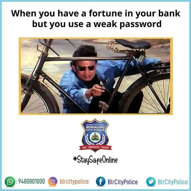 Bengaluru City Police Uses Memes To Attract New Followers! #12 | Brain Berries