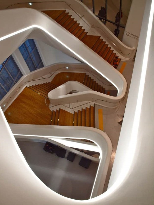 Stairs in Design Plaza, Seoul, South Korea   | 15 Most Astonishing Staircases In the World | Brain Berries