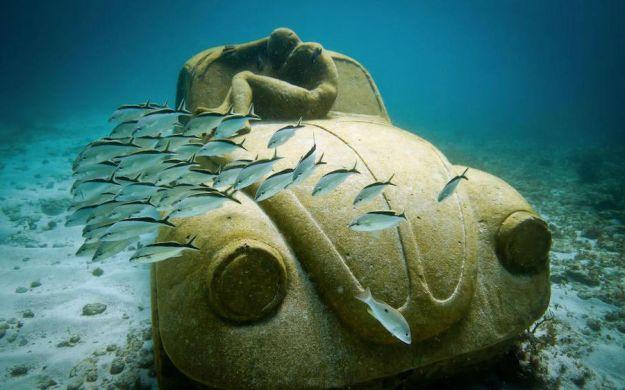 Underwater Museum, Mexico   Brain Berries