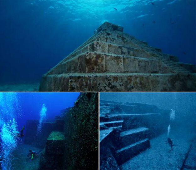 Yonaguni underwater pyramid, Japan   Brain Berries