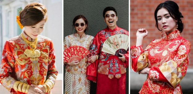 Chinese wedding | The Most Stunning Wedding Looks From Around The World | Brain Berries