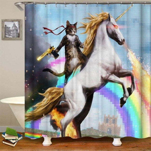 28 Geeky and Hilarious Shower Curtains For Adult #10 | Brain Berries