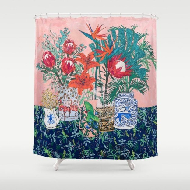 28 Geeky and Hilarious Shower Curtains For Adult #23 | Brain Berries