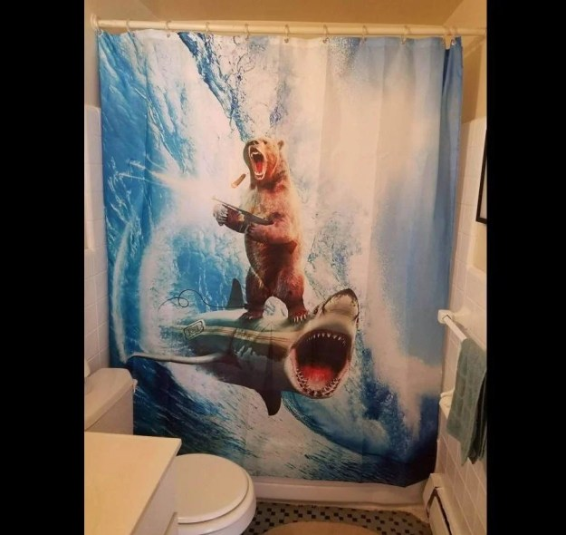 28 Geeky and Hilarious Shower Curtains For Adult #9 | Brain Berries
