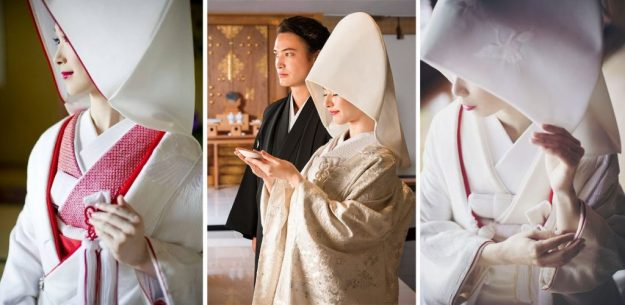Japanese wedding | The Most Stunning Wedding Looks From Around The World | Brain Berries