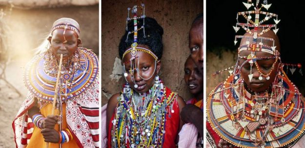 Kenyan bride | The Most Stunning Wedding Looks From Around The World | Brain Berries