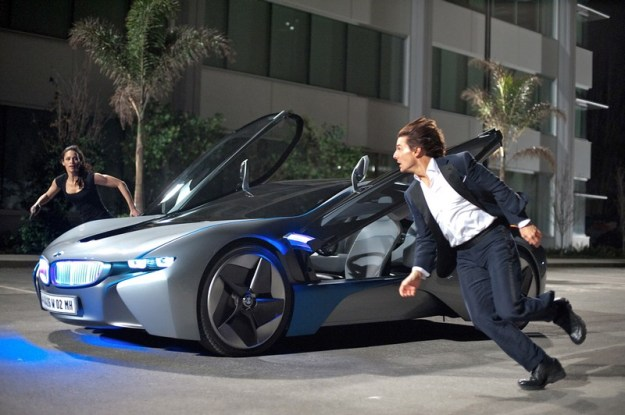 BMW i8 Concept Spyder  | The 6 Best Supercars In Movies | Brain Berries