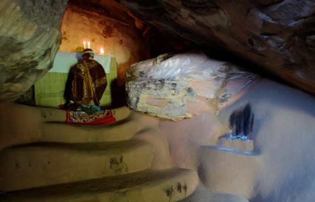 Cave Chapel at Modderpoort Prior, South Africa   17 Astonishingly Beautiful Cave Churches Around The World   Brain Berries
