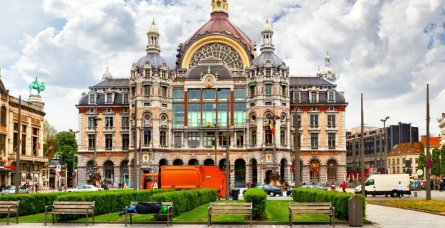 Antwerp Central, Antwerp | 7 Most Asntonishing Train Stations in the World | Brain Berries
