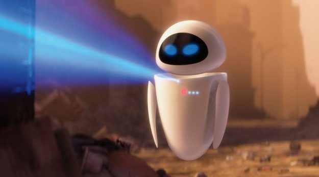 EVE –Wall E | 9 Best Movie Robots of All Time | Brain Berries