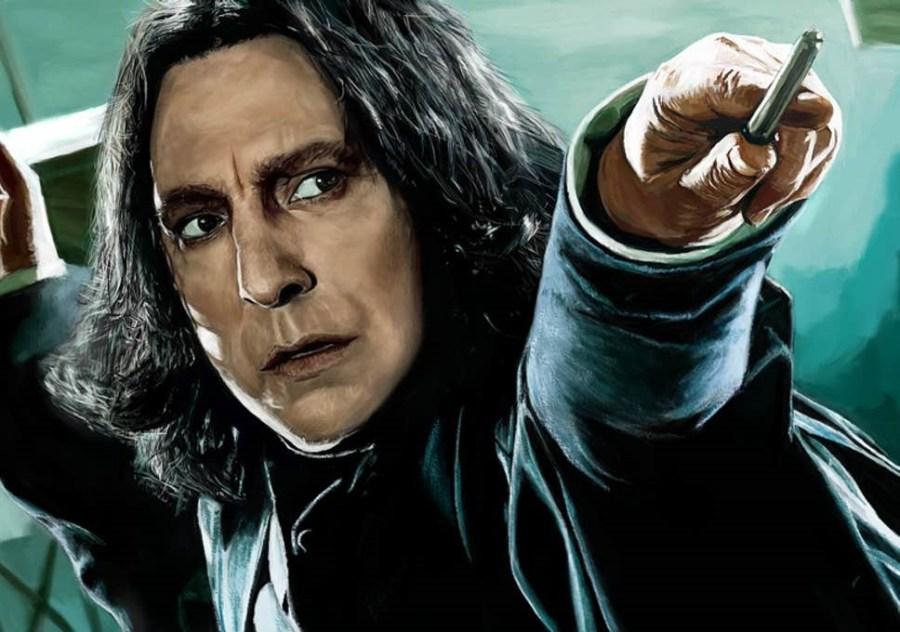 """سيفروس سنيب - """"هاري بوتر""""    9 أدوار مميزة لا أحد يريد أن يلعبها    التوت الدماغ"""