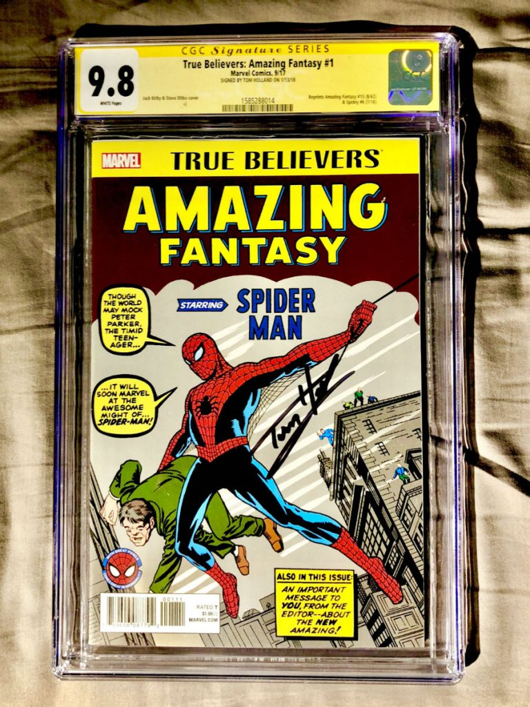 Spider-Man Comic (Amazing Fantasy # 15): 1.1 مليون دولار |  أغلى 9 أغراض نادرة وأكثرها قيمة في العالم |  التوت الدماغ