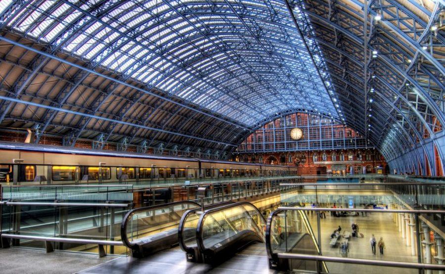 سانت بانكراس انترناشيونال ، داخل لندن    سبع محطات قطارات شهيرة في العالم    التوت الدماغ