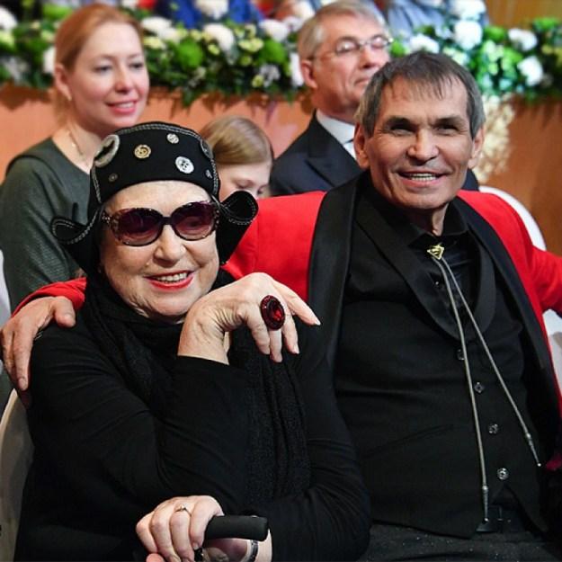 Барри Алибасов и Лидия Федосеева-Шукшина | Знаменитости, которые вступили в брак после 50 | Brain Berries