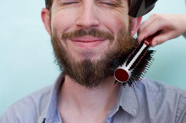 Brush beard   10 Hacks To Grow A Better Beard   Brain Berries