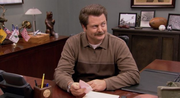 Ron Swanson – Parks and Recreation | 8 TV Supporting Characters Who Became Everybody's Favorite  | Brain Berries