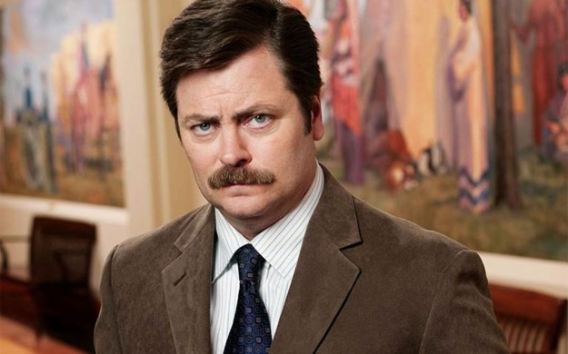 Ron Swanson – Parks and Recreation | 8 of the Greatest Sitcom Characters Of All Time | Brain Berries