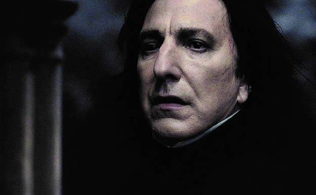 """Severus Snape – """"Harry Potter and the Deathly Hallows: Part 2"""" (2011)   7 Most Awe-Inspiring Heroic Deaths in Movies   Brain Berries"""
