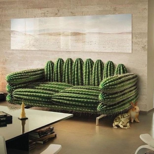 Spikey Couch | Striking, Modern, and Incredible Furniture Designs | Brain Berries
