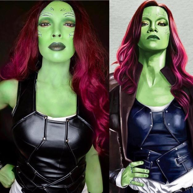 Gamora   15 Astounding Cosplay Transformations of CutiePieSensei   Brain Berries