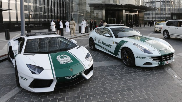 Fleet of Lamborghini Police Cars | Eight Crazy Ways Money Gets Thrown Around in Dubai | Brain Berries