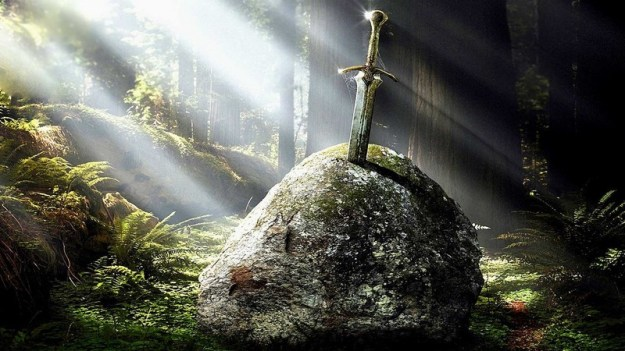 Excalibur | The Greatest Legendary Weapons of All Time | Brain Berries