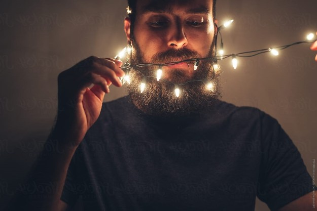 Deck Your Beard With Tiny Christmas Lights! #7 | BrainBerries