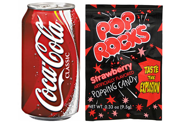 Coca-Cola + Pop Rocks = Certain Doom | 7 Myths About Coca-Cola That You're Too Awesome To Fall For | Brain Berries