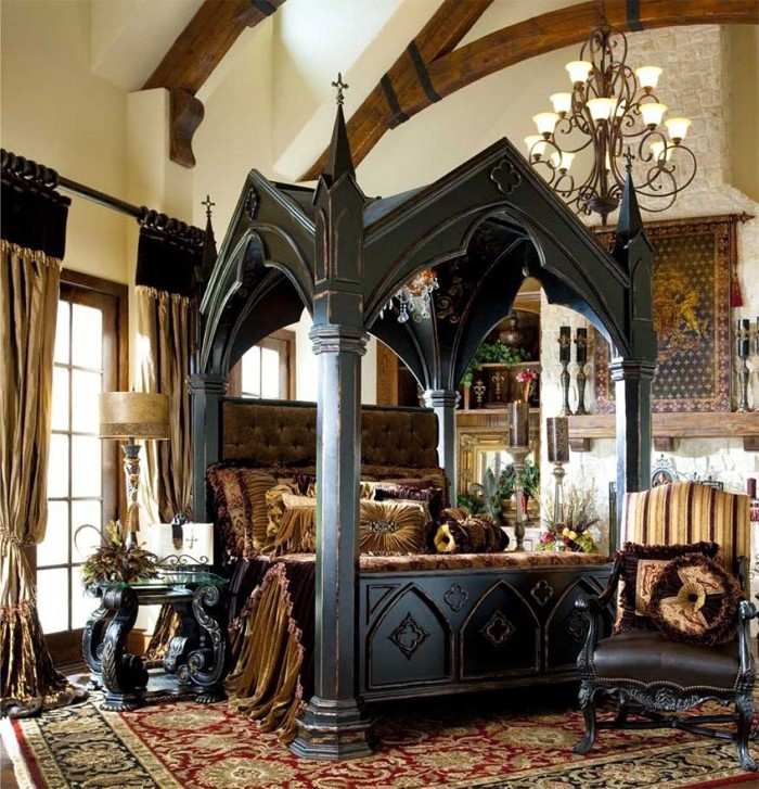 Castle | 10 Bizarre Beds You'd Never Be Able To Sleep In | Brain Berries