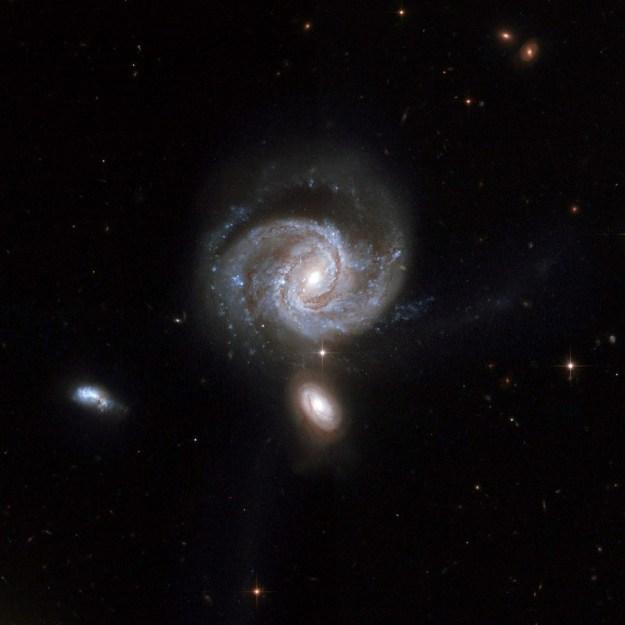 Two dark hearts | 7 Weirdest Galaxies In The Universe | Brain Berries