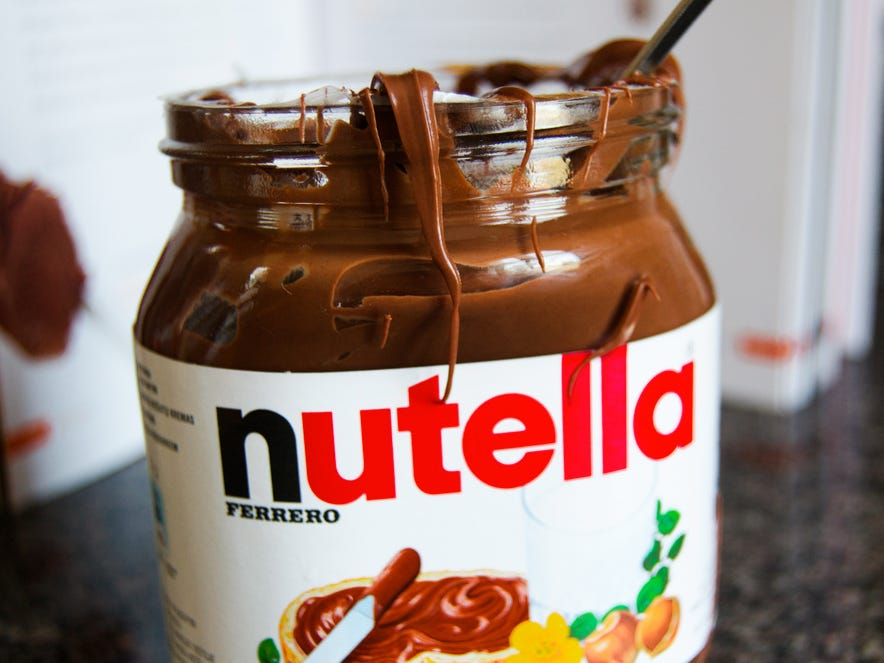 Nutella  | 10 Foods That Are Guaranteed To Make You Happy | Brain Berries