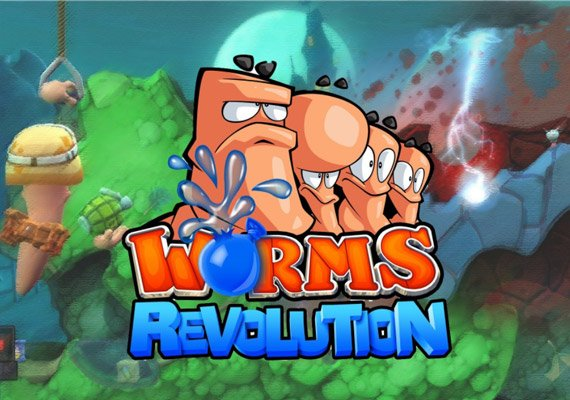 1. Worms: Revolution   Brain Berries