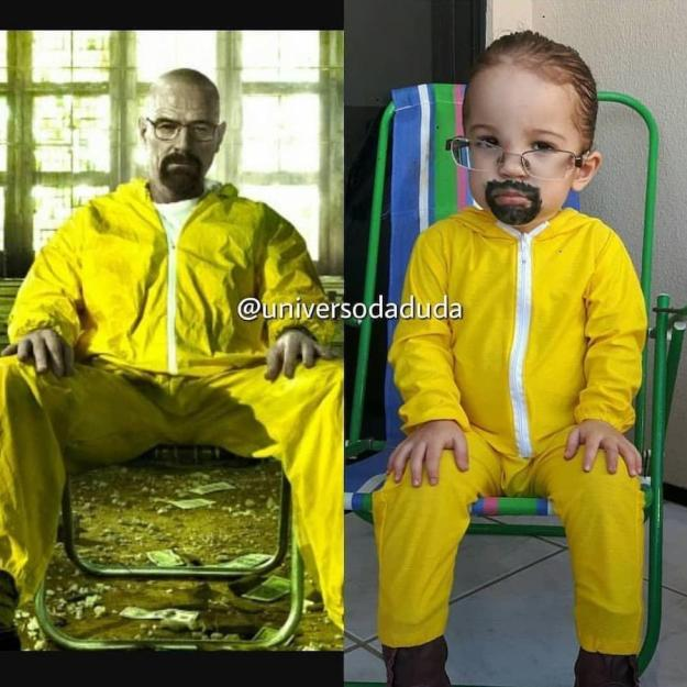 Walter White | The Youngest Cosplayer You'll Be Jealous Of | Brain Berries