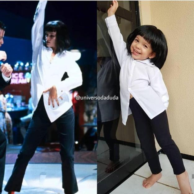 Mia from Pulp Fiction | The Youngest Cosplayer You'll Be Jealous Of | Brain Berries