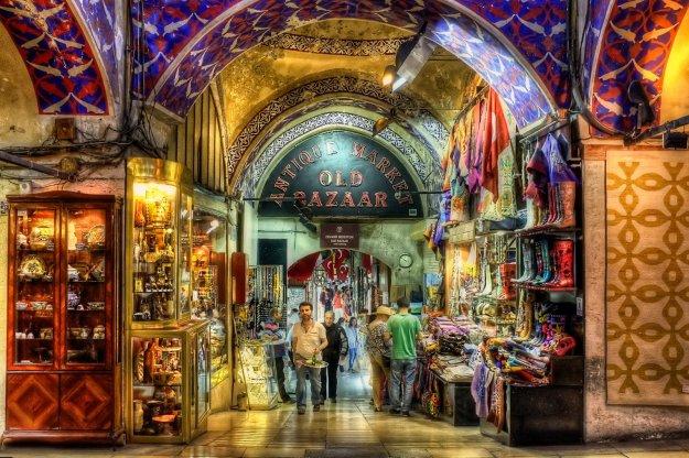 Гранд Базар, Стамбул   Топ-8 самых колоритных рынков мира   Brain Berries